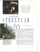 A DESIRE NAMED STREETCAR. Pacific Way Magazine. Date Unknown