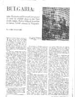 BULGARIA-LIKE FINLAND.The National Jewish Monthly. October, 1962