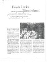 DOWN UNDER WONDERLAND. Pacific Way Magazine. Date Unknown