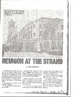 REUNION AT THE STRAND. Lookeast Magazine (Bangkok, Thailand). May 1974