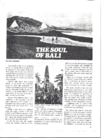 THE SOUL OF BALI. Lookeast. Date Unknown