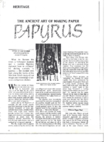 ancient-art-of-making-papyrus-sheraton-middle-east-november-1989