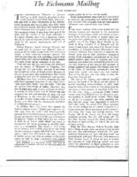 THE EICHMANN MAILBAG. Congress Bi-Weekly. February 5, 1962
